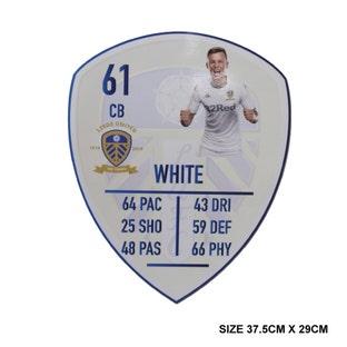 WHITE MEDIUM PLAYER CARD