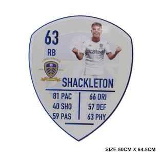 SHACKLETON MED PLAYER CARD