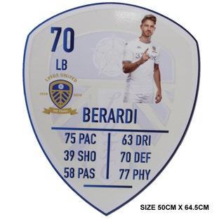 BERARDI LARGE PLAYER CARD
