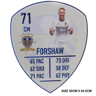 FORSHAW LARGE PLAYER CARD