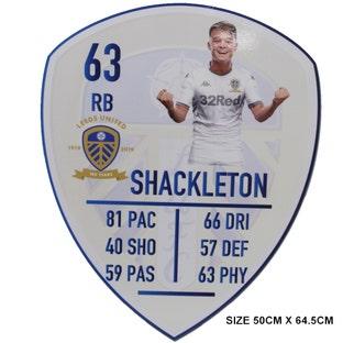 SHACKLETON LGE PLAYER CARD