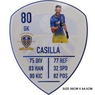 CASILLA LARGE PLAYER CARD
