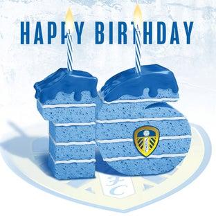 CAKE 16TH BIRTHDAY CARD