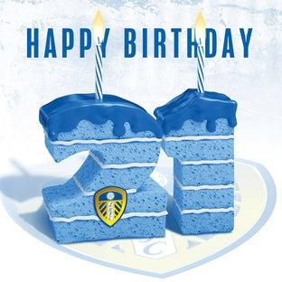 CAKE 21ST BIRTHDAY CARD