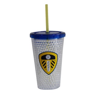 CREST CUP WITH STRAW