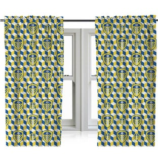 CUBE CREST CURTAINS 54 INCH