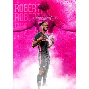 ROBERTS AWAY POSTER