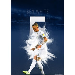 WHITE HOME POSTER