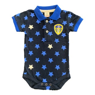 BABY STAR POLO BODYSUIT