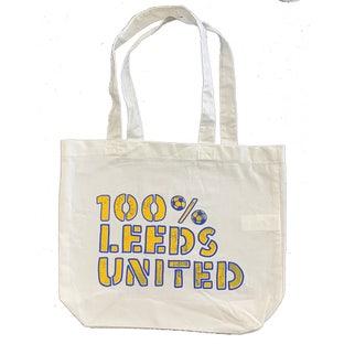 100 PERCENT LEEDS TOTE BAG