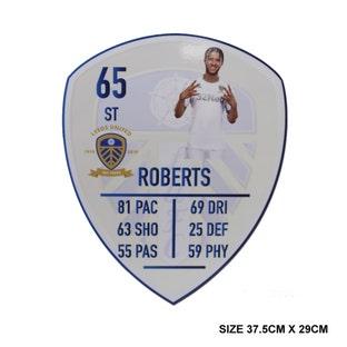 ROBERTS MEDIUM PLAYER CARD