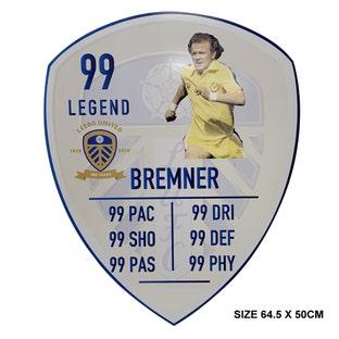 BREMNER LARGE PLAYER CARD