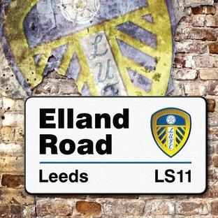 ELLAND ROAD CARD