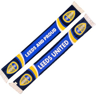 LEEDS AND PROUD CREST SCARF
